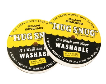 HS1WW - Hug Snug Seam Binding - Winter White