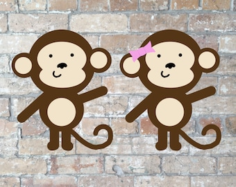 Monkey Clip Art {Digital Download}