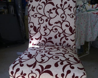 Custom made dining chairs . Quality local Australian product .