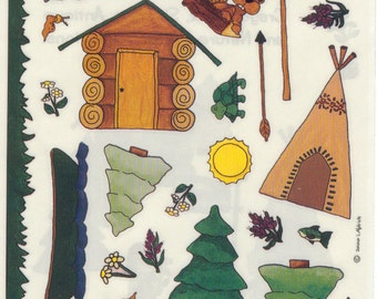 Provo Craft Camp Build a Series Stickers