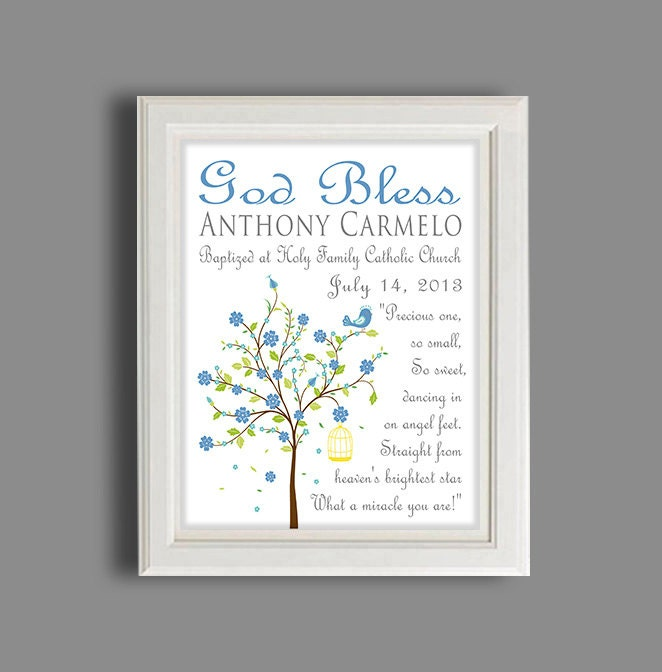 Baptism gift christening gift personalized baptism gift zoom negle Image collections
