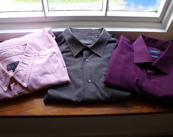 Vintage XXL quality shirts bundle of 3
