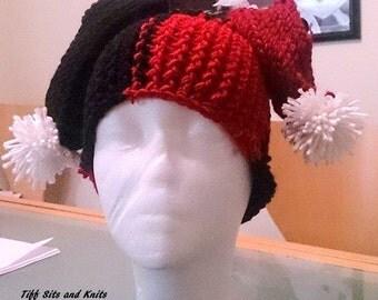 Cat Woman Crochet Adult Hat Pattern