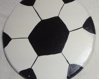 Wooden Soccer Ball Curtain Holder Tieback