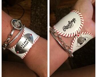 Baseball bracelet Atlanta Braves