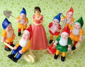 Gnome Cake Toppers Etsy