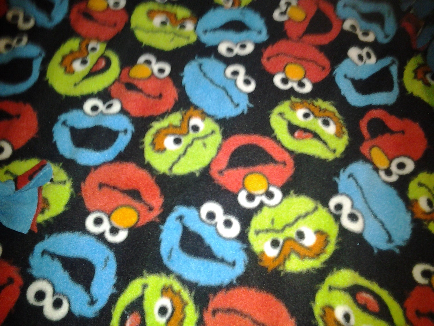 on sale sesame fleece fabric by the yard by