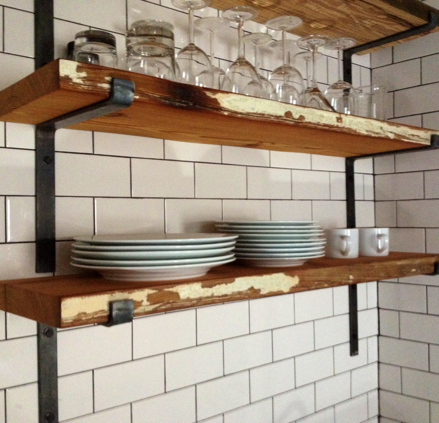 Steel Shelf For Kitchen Steel Shelf Bracket Etsy