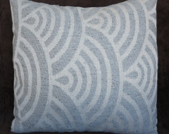 Pillow cover grey 16x16,18x18, grey pillow cover any size, design fabric throw pillow cover, any size  and ready to ship cushion cover
