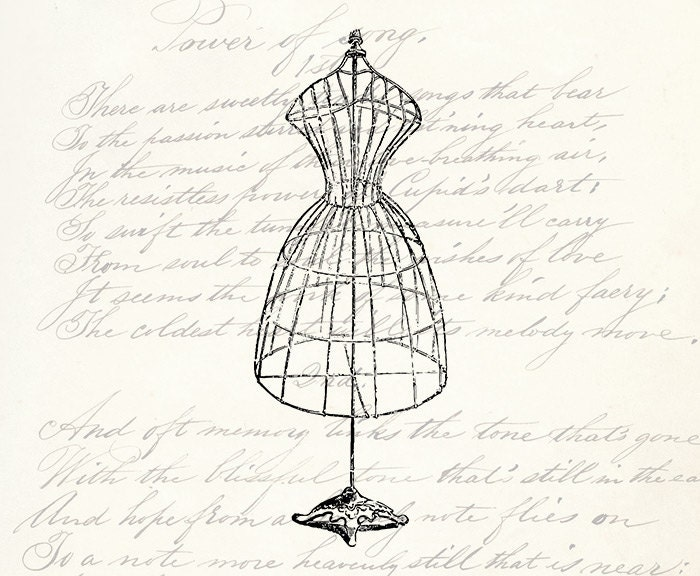 Vintage dress form  Etsy