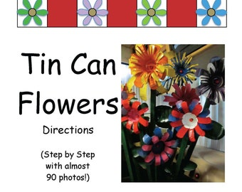 Directions to Make Tin Can Flowers