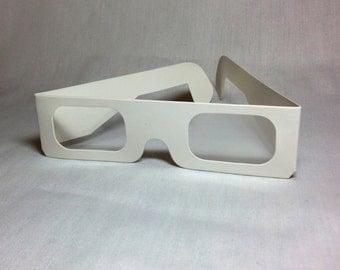 Paper Firework Diffraction Glasses