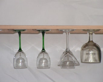 Wine Glass Rack - Stemware Holder for Under Cabinet You select the size
