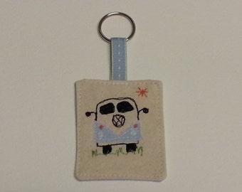 VW Camper Van Keyring.