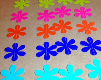 Spring Flowers Paper Streamers - 4