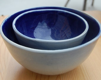 Set of Two Nesting Bowls