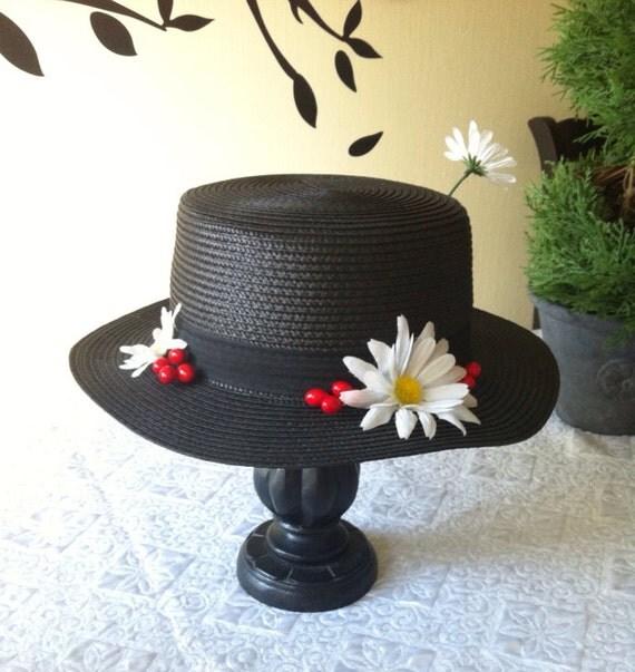 Шляпка мэри поппинс сделать своими руками 28