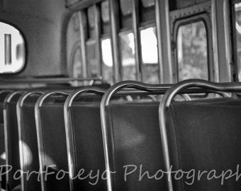 B/W Empty Seats