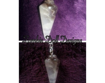 Sensual smoky quartz crystal pendulum necklace! Delightful :-)