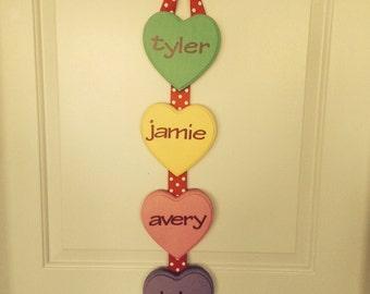 Family Conversation Heart Decoration