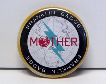 Franklin Badge from Earthbound Button