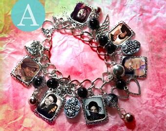 Michael Jackson Charm Bracelet Necklace