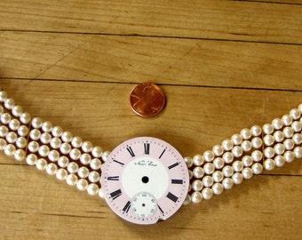 Steampunk  Jewelry  necklace choker
