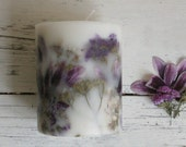 candle, flower candle, design candle, soy candle