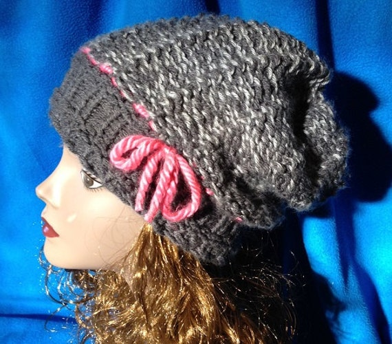 Steamboat Springs Slouchy Hat - a loom knit pattern