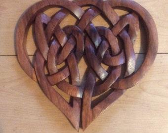 Celtic love heart knot