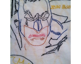 Batman Tooth Fairy Pillow