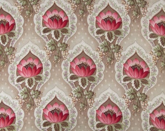 Panel of vintage Fabric circa 1920 .