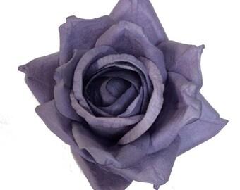 Handmade Paper/Parchment Roses - Lilac - 12 roses per bag
