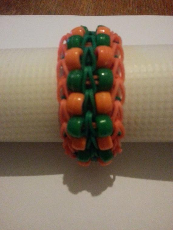 Double Beaded Ladder Rainbow Loom bracelet by PKChoices on ...