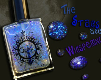 "SPELL Polish indie nail laquer ~The Stars are Whispering~ from ""It Was Written in the Stars""!"