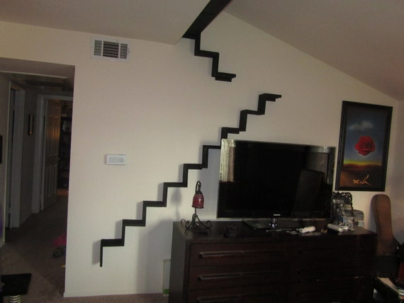 items similar to cat wall stairs runway and bed on etsy. Black Bedroom Furniture Sets. Home Design Ideas