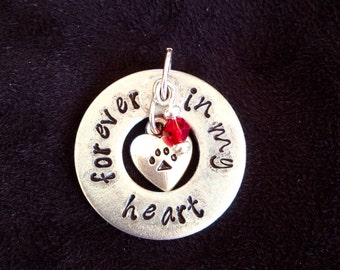 Items Similar To Forever Heart Necklace On Etsy