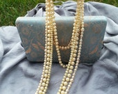Vintage Pearl necklaces lot of 5 pearl choker, pearls