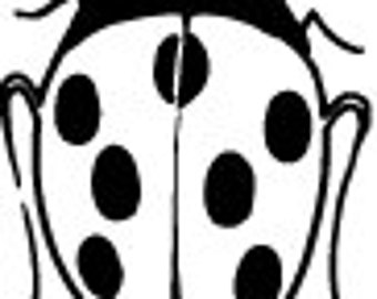 Ladybug Decal