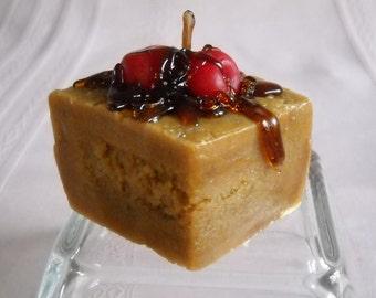 Chocolate Cherry Cake Candle ©