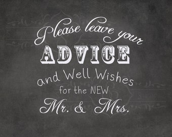 Wedding Chalkboard Printable Sign. DIY Chalkboard. 8x10 jpg. digital file.