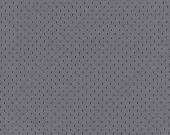 Wee Woodland- C2319-steel -Gray with Steel Dots- by Timeless Treasures - 1 Yard