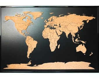 Cork world map timekeeperwatches updated gumiabroncs Choice Image