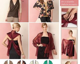 Simplicity Sewing Pattern 1588 Kimono Jacket & Wrap