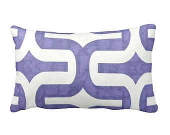 7 Sizes Available: Pillow Cover Decorative Throw Pillow Lavender Pillow Purple Pillow Geometric Pillow Decorative Pillow
