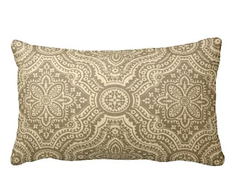 7 Sizes Available: Taupe Decorative Throw Pillow Cover Taupe Pillow Accent Pillow 12x16 18x18 20x20 22x22 24x24 Inches