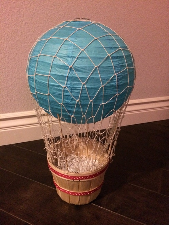 Items similar to hot air balloon centerpiece on etsy
