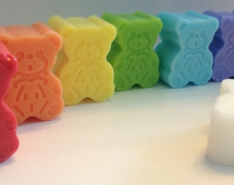 10 x  Cute Teddy Soap - Choose your scent