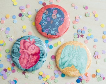 Anatomy Pinback Buttons/Magnets!