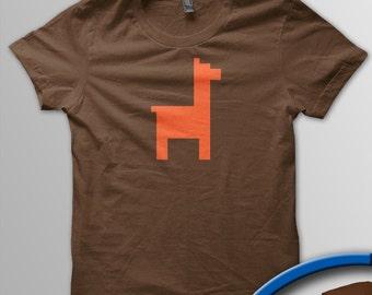 Pixel Pixels: Pixel Llama T Shirt